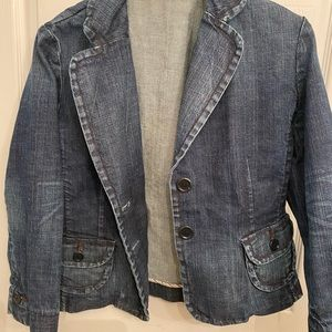 EXPRESS Women's Blue Jean Jacket